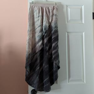 High-Low Faux Wrap Skirt from Anthropologie